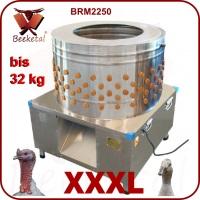Škubačka drůbeže bubnová BEEKETAL BRM 2250 na husy a krůty do 32 kg 233 prstů